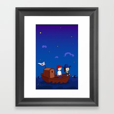 Vimacka the pirate Framed Art Print