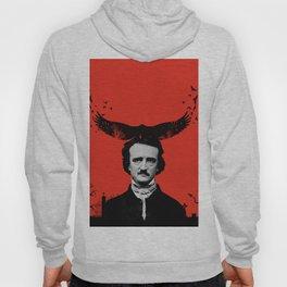 Edgar Allan Poe / Raven / Digital Painting Hoody