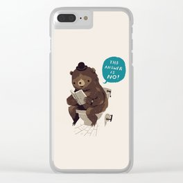 Does A Bear.. Clear iPhone Case