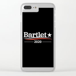 bartlet Clear iPhone Case