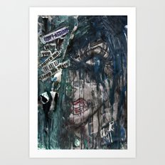 The Art of Sleep No More Art Print