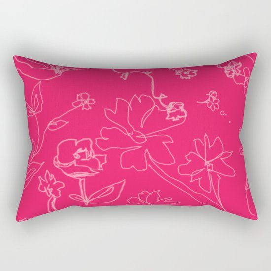 rose rose 4 Rectangular Pillow