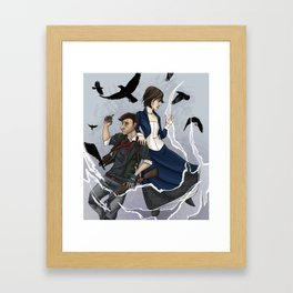 Gods and Monsters (bioshock Infinite) Framed Art Print