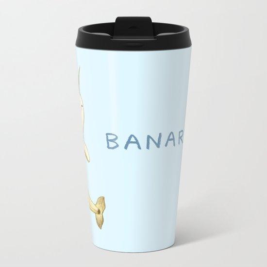 Banarwhal Metal Travel Mug