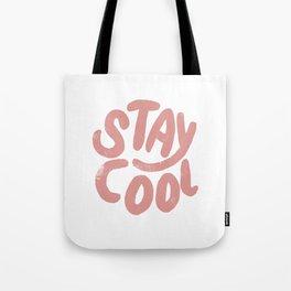 Stay Cool Vintage Pink Tote Bag