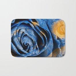 Starry Night Rose Bath Mat