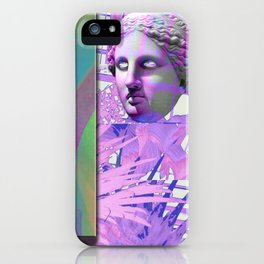 GLITCH this may take a few seconds iPhone Case