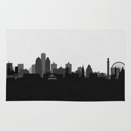 City Skylines: Louisville (Alternative) Rug