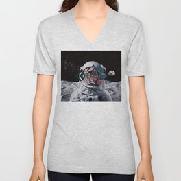 Spaceman oh spaceman Unisex V-Neck