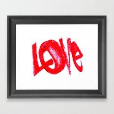 more love Framed Art Print