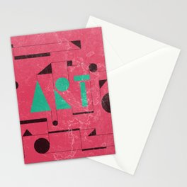 Art, the universal language. Stationery Cards