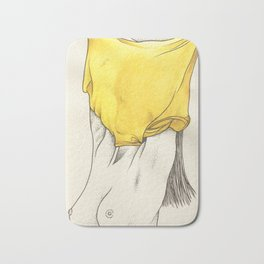 Les Femmes - Yellow Fever Bath Mat