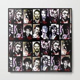 Mugshot Mania Metal Print