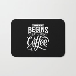 Life Begins Bath Mat