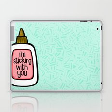 sticking with you ii Laptop & iPad Skin