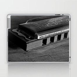 Black, White, & the Blues Laptop & iPad Skin
