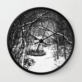 Trees #3 Wall Clock