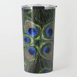 Peacock Flower Travel Mug