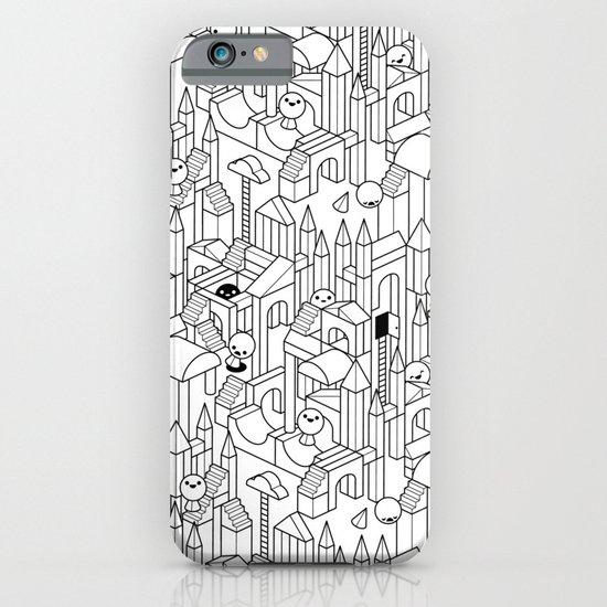 Little Escher's Building Blocks iPhone & iPod Case