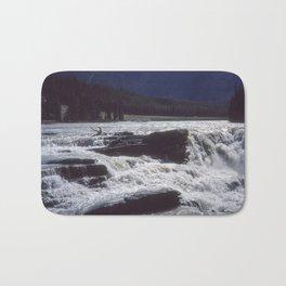 Athabasca Falls 2 Bath Mat