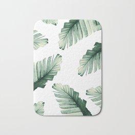 Tropical Banana Leaves Dream #8 #foliage #decor #art #society6 Bath Mat