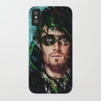 archer iPhone & iPod Cases featuring The Archer by Monika Gross