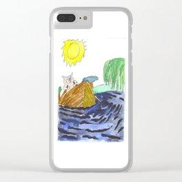 River Swine Clear iPhone Case