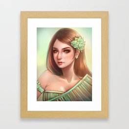 THAI traditional *GirlsCollection* Framed Art Print
