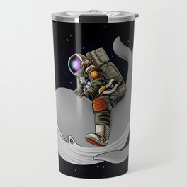 Above and beyond outer space Travel Mug