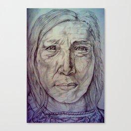 Hollow Horn Bear Canvas Print