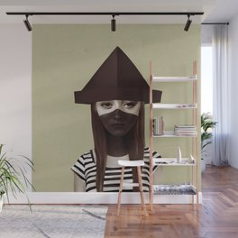 Ceci n'est pas un chapeau Wall Mural