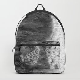 The Sea (Black and White) Backpack