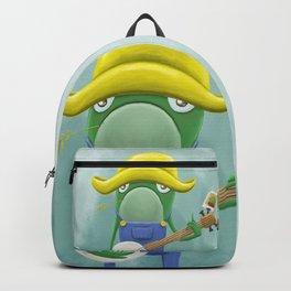 Banjo Frog! Backpack