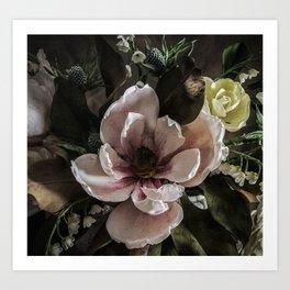 Sugar Magnolia Mask Art Print