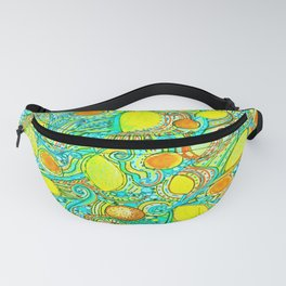 Abstract Citrus pattern drawing Fanny Pack