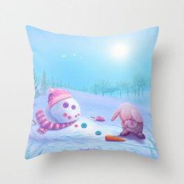 Don't Be Sad Throw Pillow