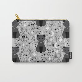 Kitten Fang  Carry-All Pouch