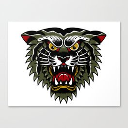 Tigre Verde by John Karch Canvas Print