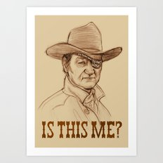 Is This Me? Art Print