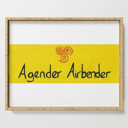 Agender (air) Serving Tray