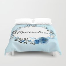 HP Ravenclaw in Watercolor  Duvet Cover