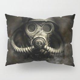 Vintage, soujer, warrior gas mask Pillow Sham