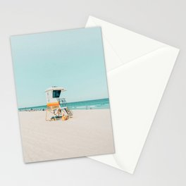 Aussie lifeguard Stationery Cards