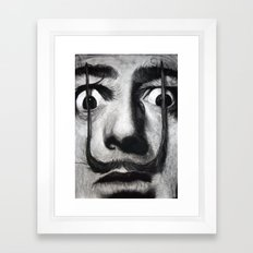 I am drugs ( Salvador Dali ) Framed Art Print
