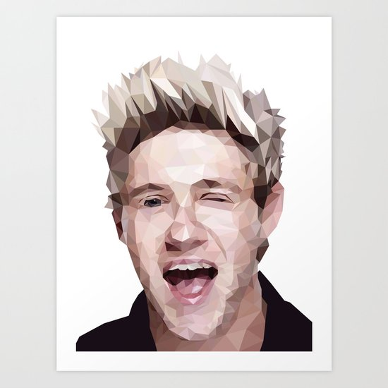 Niall Horan - One Direction Art Print