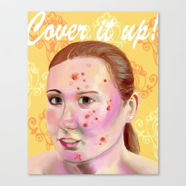 Cover It Up Canvas Print