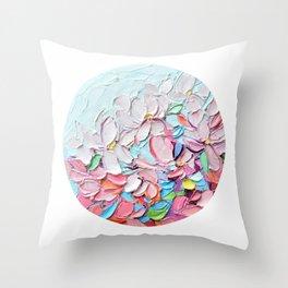 Yoshino Petals Throw Pillow