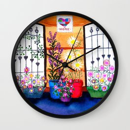 Jade's windows Wall Clock