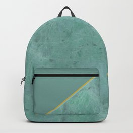 Emerald Green Marble Backpack