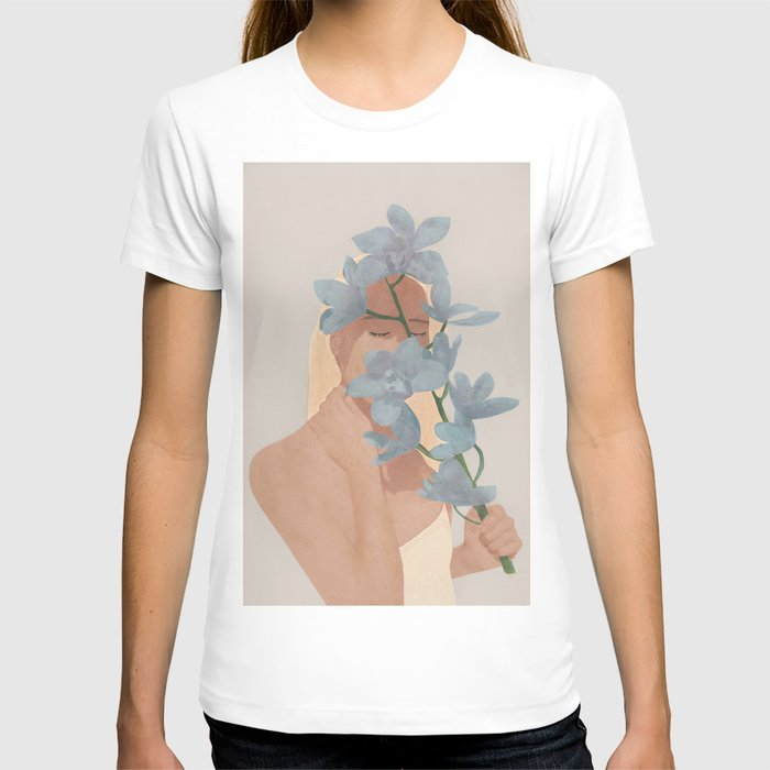 Blue Orchids T-shirt